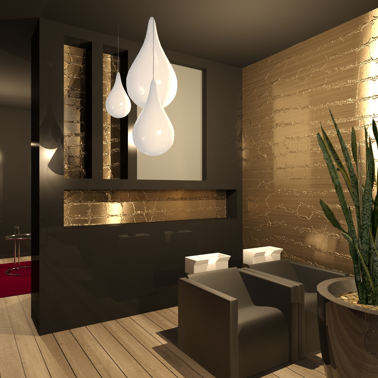 salon de coiffure where is brian. Black Bedroom Furniture Sets. Home Design Ideas